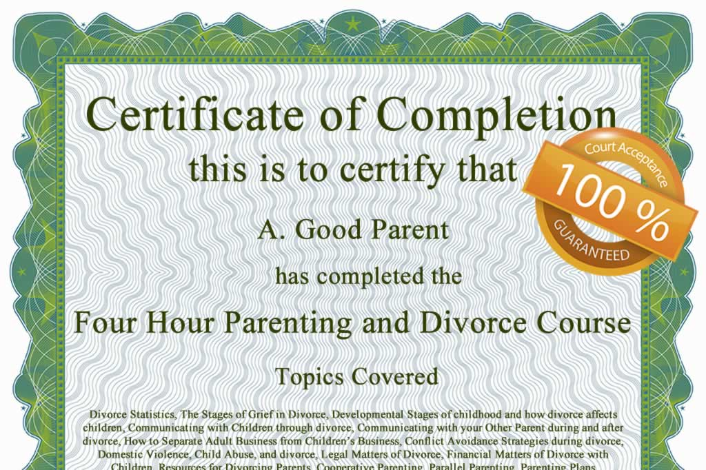 Florida Parenting Class
